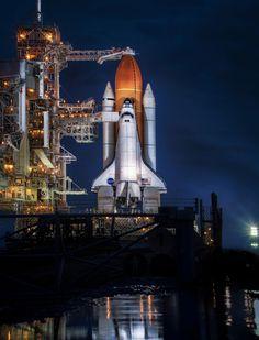 Awaiting Final Launch, Space Shuttle Atlantis; photo  by Scott Kublin on 500px