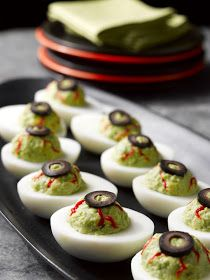 Last-Minute Halloween Recipe: Deviled Eyeballs