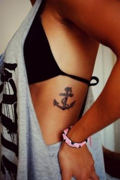 Anchors to me represent: -Being grounded, humble and down to earth. -When life gets tough, you can choose to sink or swim.
