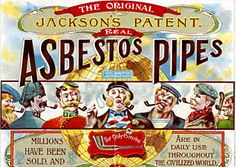 Asbestos Pipes? Isn't the tobacco enough?