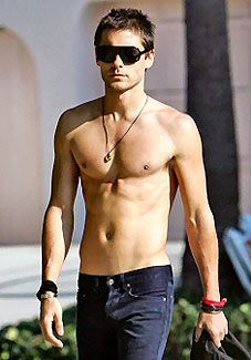 Jared Letto. I do not care that he is old enough to be my father. He is in an amazing band and he's hot. 'Nuff said
