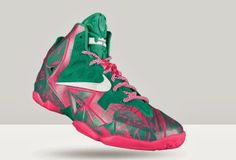 """THE SNEAKER ADDICT: NIKEiD Lebron 11 Sneaker """"Graffiti"""" Option Available For Limited Time (Images)"""