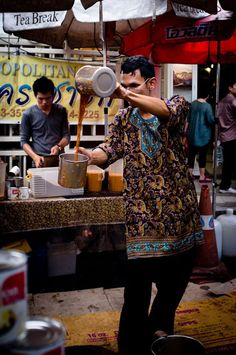 Drank Thai Tea in Thailand