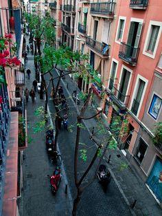 Carrer Verdi, Grácia, Barcelona