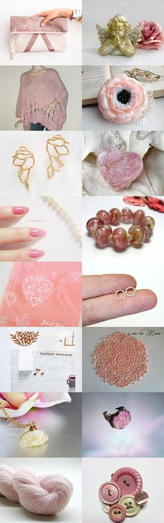 Soft Pink by Laura P. on Etsy--Pinned with TreasuryPin.com