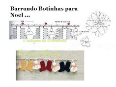WORKSHOP OF BARRED: Croche - A BARRADINHO graceful. . .