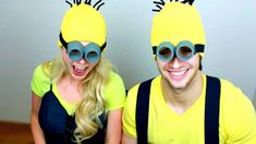 How To: DIY Despicable Me Minion Halloween Costume! (Easy, Cheap DIY) Ma...