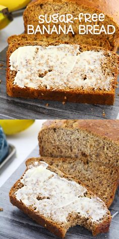 A delicious sugar-free banana bread recipe sweetened with honey This easy breakfast loaf is perfect for a healthy brunch or an afternoon snack bananabread bananarecipe sugarfree healthyrecipe recipevideo SSG Healthy Bread Recipes, Banana Bread Recipes, Almond Recipes, Irish Recipes, Banana Recipes For Diabetics, Banana Bread Recipe With Honey, Kid Recipes, Loaf Recipes, Avocado