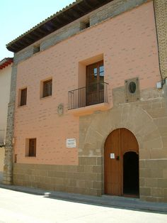 Huesca Fachada casa natal Servet