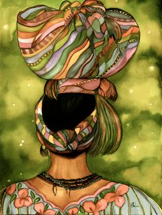 woman carrying a load on her head from Guatemala Giclee print from Print Illustrations on Etsy