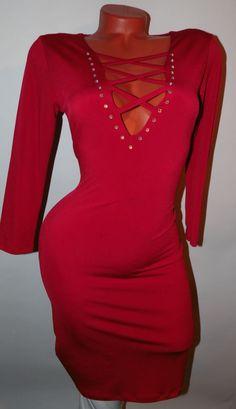 Szexi fűzős ruha több színben S/M , L/XL