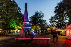 Sommerfest Continental - Frankreich das Thema - Beleuchtung unser Thema