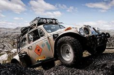 10 Cars that Attract the Opposite Sex - Do you agree? Check out why this Baja Bug made the list Fusca Cross, Vw Baja Bug, Safari, Bug Out Vehicle, Volkswagen Bus, Vw Camper, Expedition Vehicle, Vw Cars, Vw Beetles