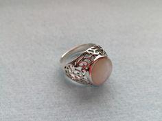 Srebrny pierścionek z masą perłową - Lady-Kate23 - Pierścionki