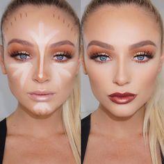 Gorgeous Makeup: Tips and Tricks With Eye Makeup and Eyeshadow – Makeup Design Ideas Makeup Goals, Makeup Inspo, Makeup Inspiration, Makeup Tips, Makeup Ideas, Contour Makeup, Skin Makeup, Contour Face, Beauty Make-up
