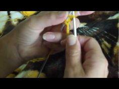 MÉTODO 2: montaje tejido con dos agujas a la francesa.