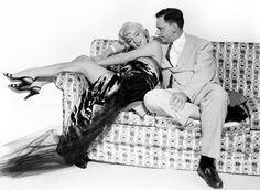 "Marilyn and Tom Ewell for a publicity photo for ""The Seven Year Itch"" 1955."