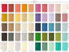 Heirloom Traditions Paint Color Chart www.HeirloomTraditionsPaint.com
