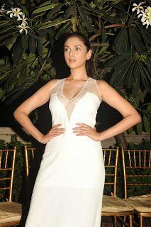 : Aditi Rao Hydari in White Gown at a Fashin Show