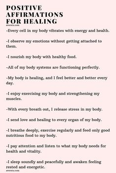 Inspirational Life Quotes – Self Help, Self Development Motivation Positive affirmations for healing Healing Affirmations, Affirmations Positives, Positive Affirmations Quotes, Self Love Affirmations, Morning Affirmations, Affirmation Quotes, Positive Quotes, Gratitude Quotes, Positive Psychology