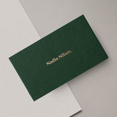 Illustrator Business Card Modern stationery – business card with golden letterpress and minimalist design…. Classic Business Card, Luxury Business Cards, Gold Business Card, Letterpress Business Cards, Minimalist Business Cards, Green Business, Elegant Business Cards, Stationery Business, Business Card Print