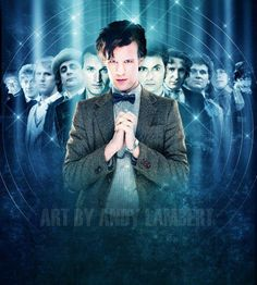 All eleven Doctors.