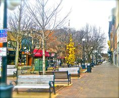 Ped Mall in IC.....great for a warm weather stroll.