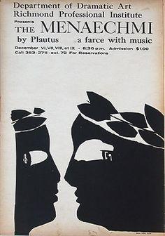Poster. Silk screen. 1962