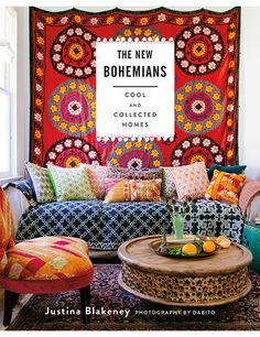The bohemian lifestyle, originally celebrated by 19th-century Parisian artists, is alive and well in the U.S., everywhere from Brooklyn to California. Designer and stylist Justina Blakeney captures these nouveau creatives—and 20 of their eclectic spaces—in her just-released book, The New Bohemians: Cool and Collected Homes (Stewart, Tabori & Chang, $35). With pages of tips and 12 DIY projects, the book makes the free-spirited style easy to achieve.