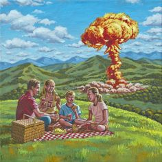 Mushroom picnic