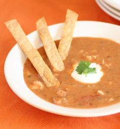 Spicy Hearty Tortilla Soup