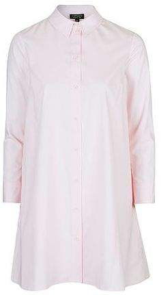 Womens ice pink oversized shirt dress - pink, pink from Topshop - £39 at ClothingByColour.com