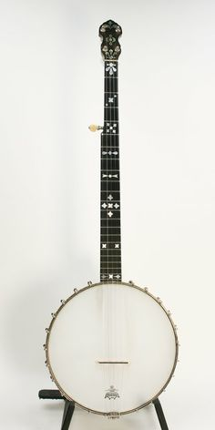 One of the special banjos made by Fairbanks for well-known Boston teacher Gad Robinson;/Bernunzio Uptown Music