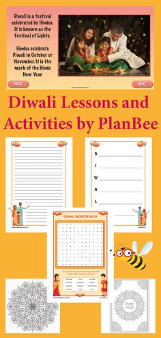 Diwali festival primary resources and lesson plans with facts and stories about the meaning of Diwali, as well as fun Diwali 2019 celebration ideas. Birth Celebration, Diwali Celebration, Diwali Greeting Cards, Diwali Greetings, Diwali Activities, Activities For Kids, Information About Diwali, Meaning Of Diwali, Diwali Story