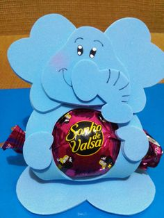Porta bombons animais - Elefante