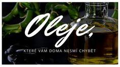 Oleje, které vám doma nikdy nesmí chybět Arabic Calligraphy, Health, Fitness, Health Care, Arabic Calligraphy Art, Salud