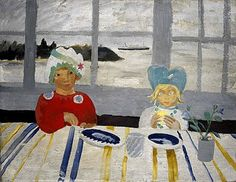 Winifred Nicholson: Jake and Kate on the Isle of Wight (1931)