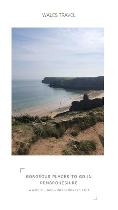 Here are the best places to visit in Pembrokeshire South written from experience by a Welsh travel blogger. There are Pembrokeshire tourist attractions and Pembrokeshire places to visit is perfect for your UK staycation in West Wales. Includes a Map of Pembrokeshire, where to stay in Pembrokeshire, and places to see in Pembrokeshire South. 13 Lush Places in Pembrokeshire to Visit. Repin to UK Travel Boards. #TravelUK #TravelBlog #UKTravel #WalesTravel #VisitWales #Wales #Staycation #WestWales Day Trips Uk, Day Trips From London, Best Places To Travel, Cool Places To Visit, Travel Around The World, Around The Worlds, Pembrokeshire Coast Path, European Travel, Travel Advice