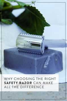 Small Shop: A Zero Waste Online Shop — Why Choosing the Right Safety Razor Can Make All the Difference Homemade Body Care, Environmentally Friendly Gifts, Recycling Information, Shower Routine, Waste Reduction, Homemade Cleaning Products, Choose The Right, Cleaning, Patterns
