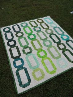 Instant Download - PDF Quilt Pattern -  Sequence Jelly Roll or Layer Cake Friendly Quilt Pattern