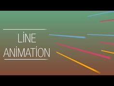 After Effects Tutorial: Line Animation Line Animation, Animation Reference, Vfx Tutorial, Animation Tutorial, Adobe After Effects Tutorials, After Effect Tutorial, Creative Suite, Motion Video, Branding