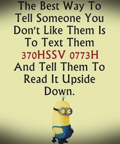 Funny images of Minions with quotes (03:17:06 PM, Friday 25, September 2015…