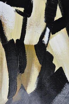 CZ ART DESIGN - Closeup. Set of 2 Contemporary Painting on canvas #S167, original fine art, pair painting.