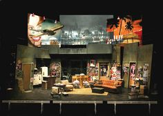The House of Blue Leaves. Berkeley Repertory Theatre. Set design by William Bloodgood. 2002