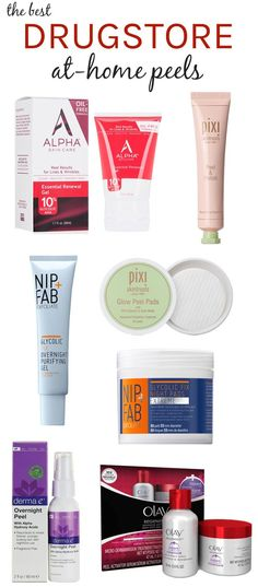 Take your skin from drab to fab! Whether your skin is acne-prone or you've got dark spots or fine lines, these drugstore at-home peels have you—and your wallet—covered!