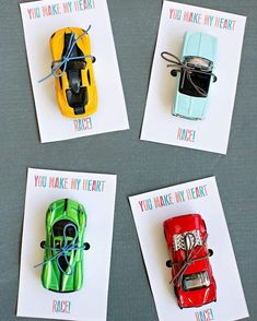 "934 Likes, 105 Comments - hello, Wonderful (@hellowonderful_co) on Instagram: ""Do you know a little race car lover? Made these for my son's class a while back and they went crazy…"""