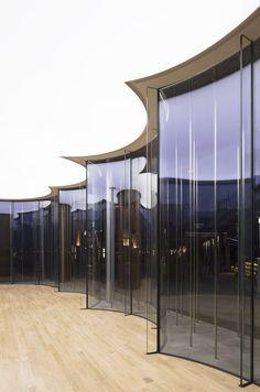 schmidt hammer lassen architects, Peter Dixie · The Cloud Pavilion