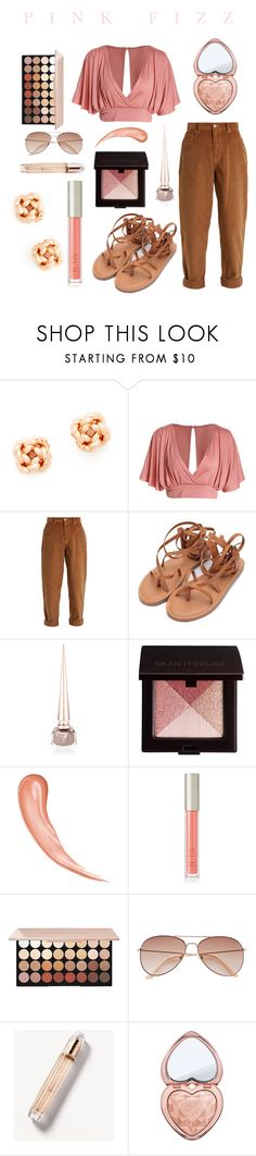"""♡ Pink Fizz ♡"" by aa-leia on Polyvore featuring Tory Burch, Miu Miu, Christian Louboutin, Laura Mercier, Ilia, H&M, Burberry and Too Faced Cosmetics"