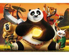 Puzzle Clementoni Kung Fu Panda 3 Maxi 24 Piezas