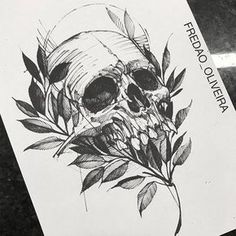 But something other than a skull Skull Tattoos, Body Art Tattoos, Sleeve Tattoos, Forearm Tattoos, Tattoo Sketches, Tattoo Drawings, Art Drawings, Dibujos Tattoo, Desenho Tattoo